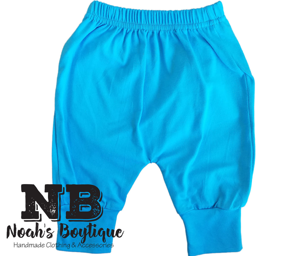 bright blue pants carolina blue baby pants trendy baby pants toddler boys pants for toddlers pants for baby boys pants for babies noahs boytique newborn boy pants newborn baby boy pants harem pants cute pants for babies blue baby pants baby boy pants baby boy harem pants baby boy