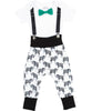 hipster baby boy clothes - baby boy outfit - zebra pants - boys first birthday -suspender onesie - Suspenders bow tie - baby boy gift set - baby shower gift - 1st birthday outfit - noahs boytique