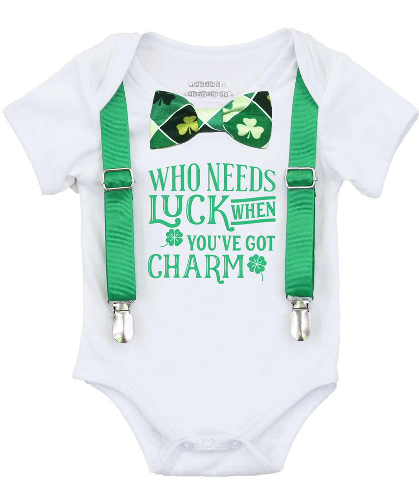baby boy st. patricks day outfit, st pattys day onesie, lucky charm, shamrock clover bow tie green pinch me first st patricks day shirt kiss me i'm irish