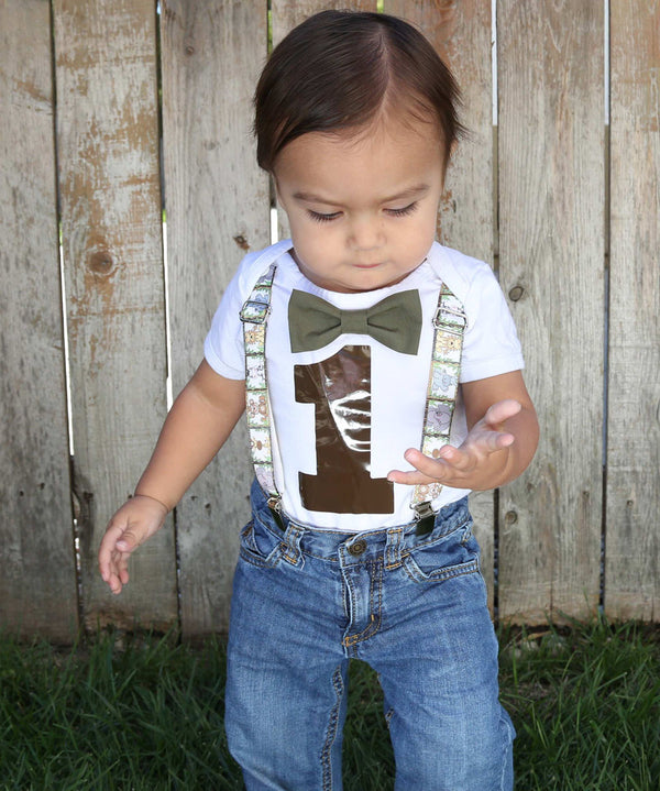 Zoo Birthday Shirt Boy - Zoo Animal First Birthday Party Baby Boy - Lions - Tigers - Elephants - Monkeys - Zoo Theme Party - Jungle - Safari - Zoo Onesie