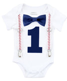 Baby Boys 1st Birthday Outfit Baseball Theme Noah's Boytique
