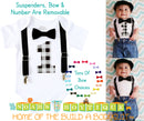Boys First Birthday Outfit Grey and Black Buffalo Plaid - Little Man Party - 1st Birthday Outfit - Boy Birthday Clothes - Birthday Shirt - Noah's Boytique Bodysuit - Baby Boy First Birthday Outfit