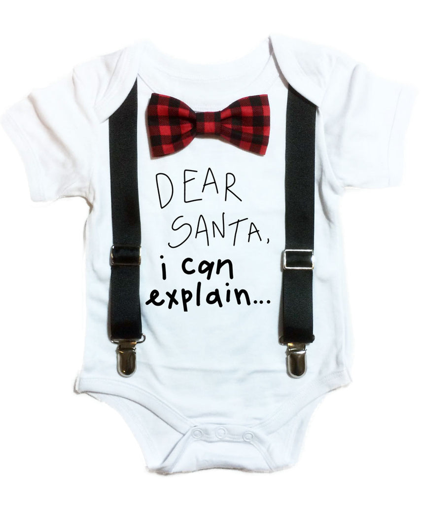 Baby Boy Christmas Dress Clothes