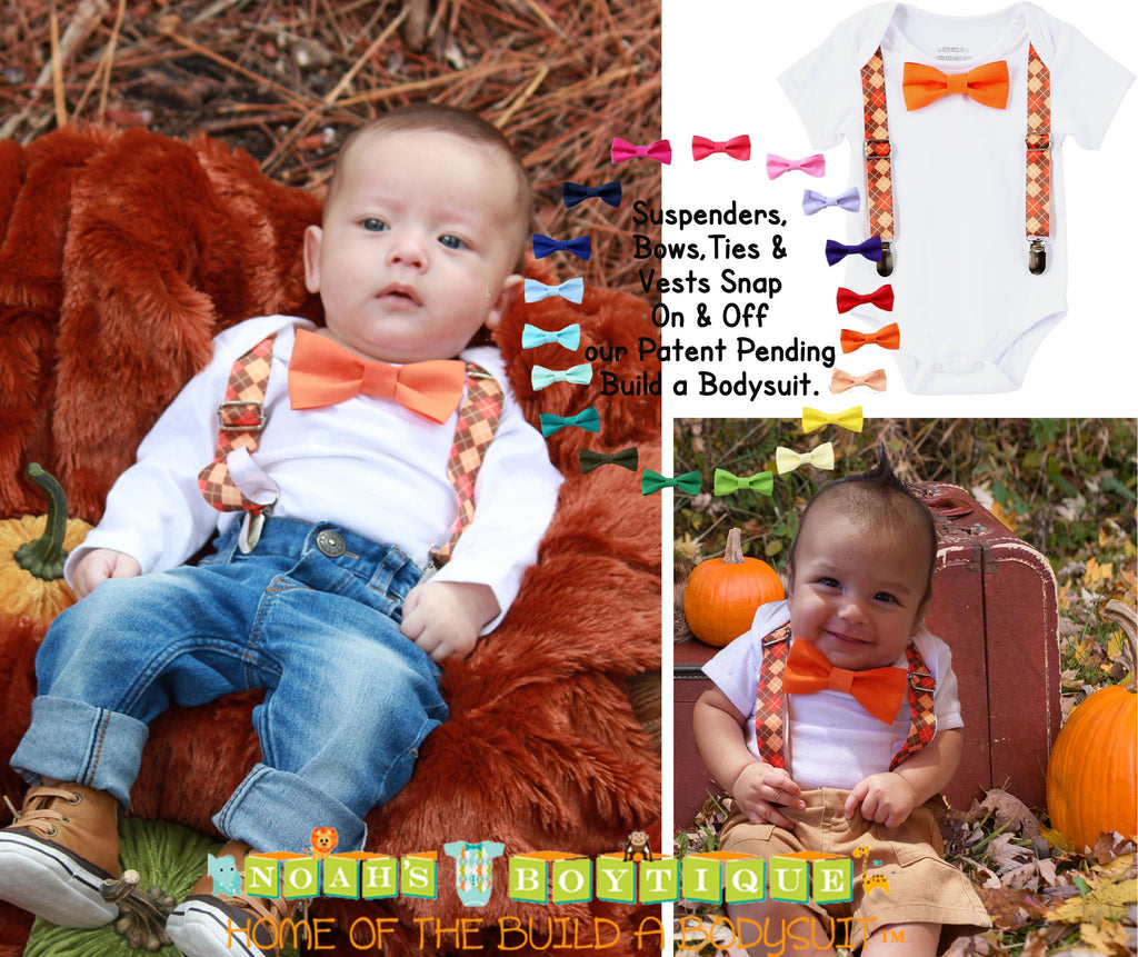 c17e45372 ... Baby Boy Thanksgiving Fall Outfit Pumpkin Patch Noah's Boytique ...
