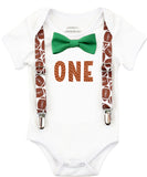 Football First Birthday Party Outfit Baby Boy