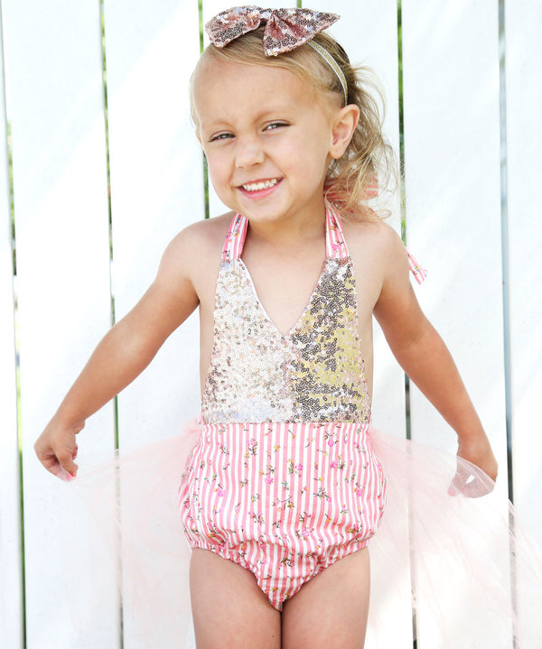 vintage tutu romper toddler girl sequins rosebuds princess birthday pink and gold romper pink and gold birthday pink and gold newborn gold sequin romper floral first birthday cake smash baby tutus baby girl summer clothes baby girl rompers baby girl outfits baby girl clothing baby girl clothes baby girl 1st birthday noah's boytique
