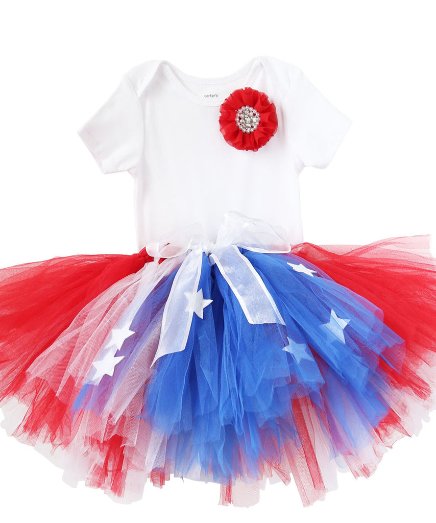 3c318d69d0dd Girls Fourth of July Outfit - Fourth of July Tutu - Toddler - Baby Girl ...