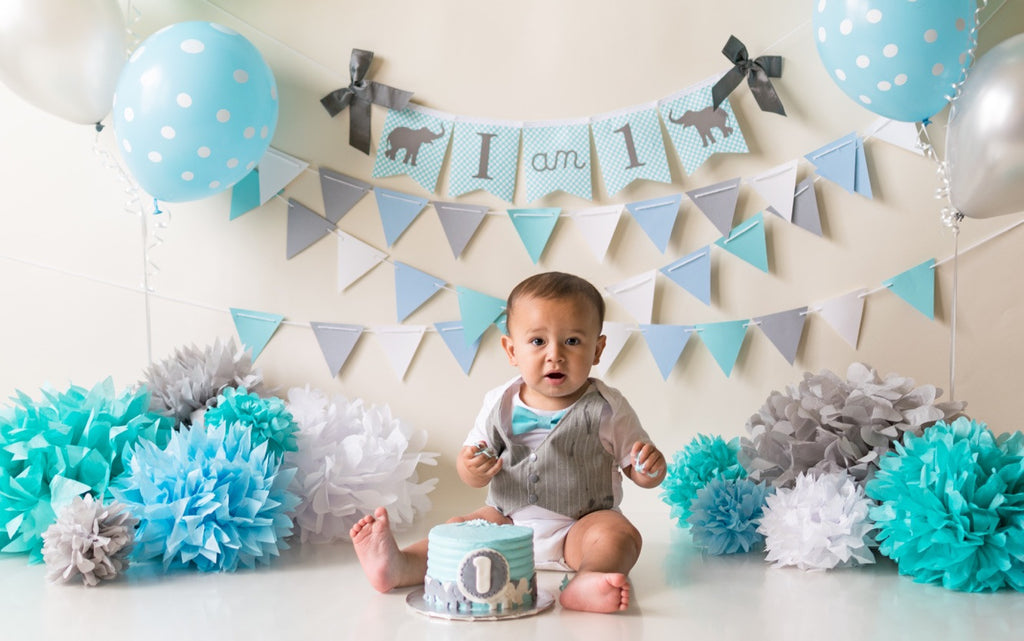 Baby Boy Clothes Grey Vest Bow Tie Cake Smash Outfit Easter Shirt
