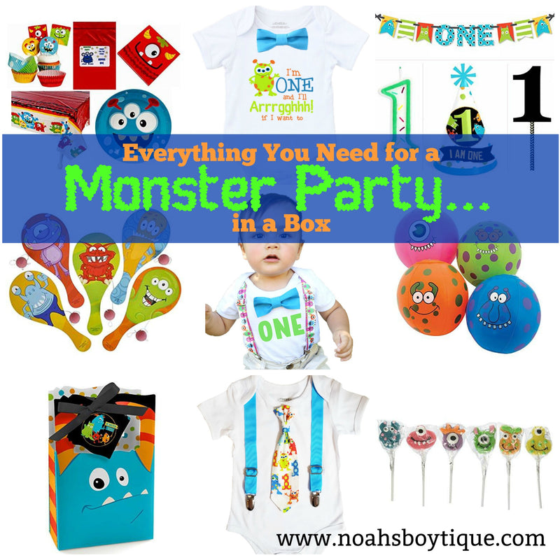 monster onesie supplies party in a box paddle balls monster tablecloth monster plates monster party theme ideas monster party plates monster party favors monster party decorations monster party monster lollipops monster first birthday outfit monster favor box monster birthday theme monster birthday party mini monster party little monster first birthday first birthday outfit decorations boys first birthday birthday in a box birthday express 1st birthday boy