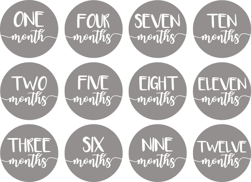 Monthly Milestone Sticker Outfit Baby Boy Photo Prop Bow Tie Pictures Baby Shower Gift 22 Piece Set
