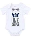 mr onederful crown first birthday shirt onesie outfit suspenders bow tie glitter wild one 1st birthday cake smash bow tie