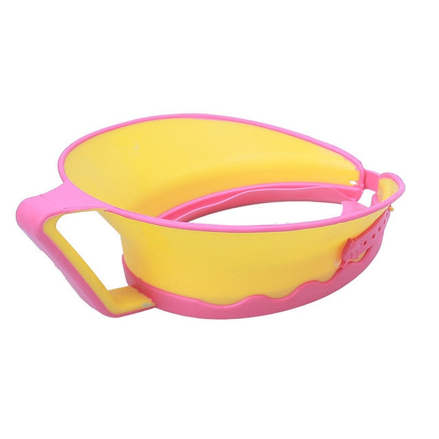 Baby Kids Bath Cap Visor Hat Adjustable Shower Shampoo Protect Eye Ears Hair Wash Shield Waterproof Splashguard for Children In