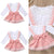 girls lace long sleeve onesie and pink overall jumper outfit with lace and ruffles