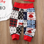 My Daddy is my Hero Outfit Fireman Firefighter Baby Outfit Set Pants and Hat Onesie
