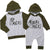 Big Brother Little Brother Matching Outfits Romper and T-shirt Cute Matching Outfits for Brothers Long Sleeves Winter