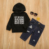 Got My Mind on My Mommy Hoodie and Jean Set Baby Boy Outfit Winter Clothes