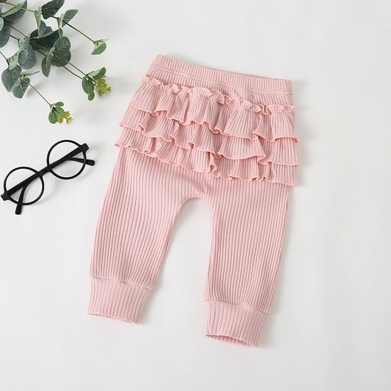 Baby Girl Long Sleeve Ruffle Onesie with Matching Pants with Ruffle Bottoms Baby Girl Clothes