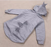 Boys Kids Jacket with Dinosaur Hood Coat Winter Hoodie with Zipper Toddler Boy