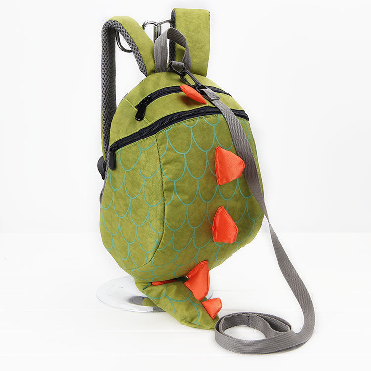 Baby Boy Dinosaur Backpack with Optional Walking Strap