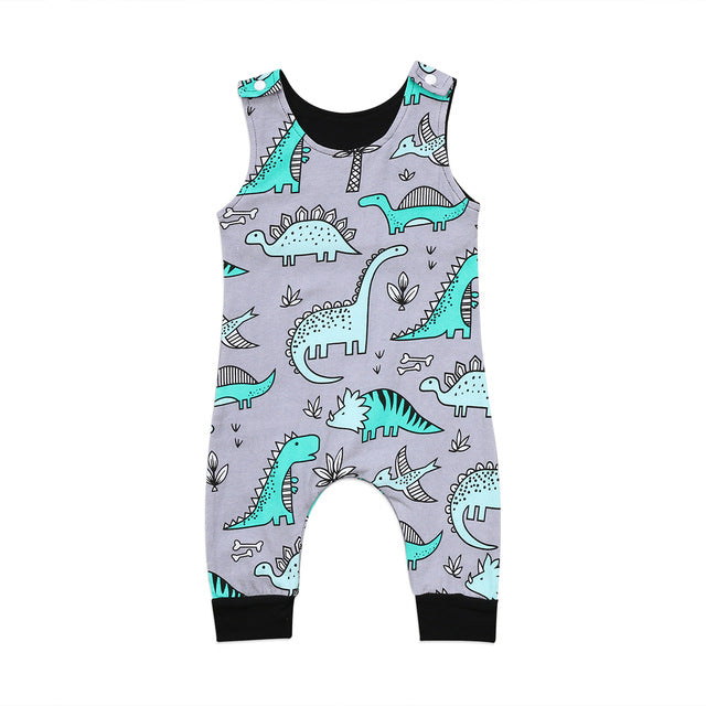Dinosaur Baby Romper Summer Outfit Baby Boy