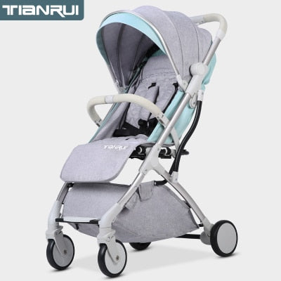 Baby Stroller Trolley Car trolley Folding Baby Carriage 2 in 1 Buggy Lightweight Pram Europe Stroller Original Pushchair