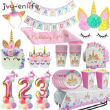 unicorn birthday party theme decorations supplies balloons favors cake