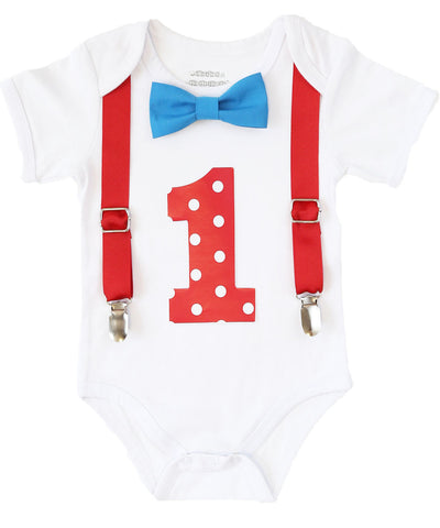 Vintage Airplane First Birthday Outfit Boy Plane Theme