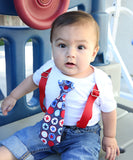 fourth of july outfit baby boy 4th of july shirt patriotic newborn toddler onesie