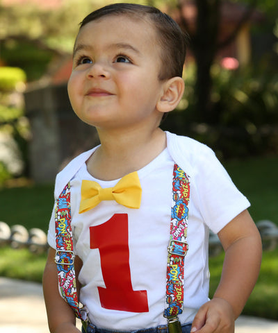 Paw Patrol First Birthday Outfit Baby Boy with Green Pants