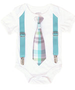 baby boy easter outfit baby boy clothes  baby boy  toddler boy  newborn boy  outfits for boys tie and suspenders  set  baby boy easter  easter  easter outfit  easter bunny tie  shirt  outfits for easter onesie cute first easter noahs boytique