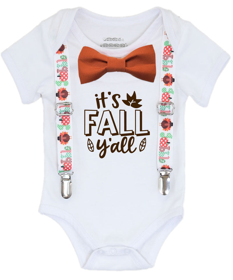 baby boy thanksgiving outfit fall ya'll onesie gobble newborn first thanksgiving shirt with saying