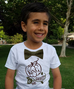 boys shirts for fall with funny sayings king of the patch pumpkin bow tie toddler cute