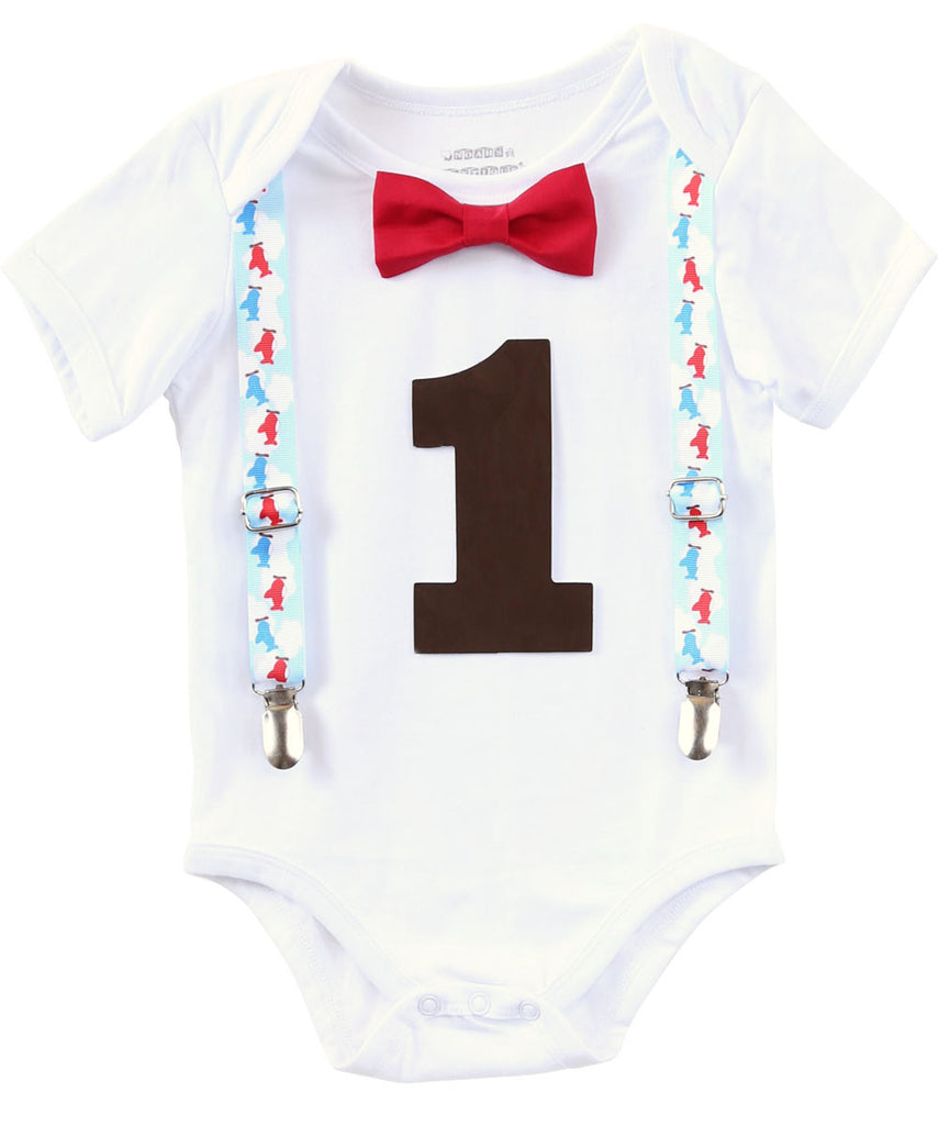 Vintage Airplane Theme First Birthday Outfit Boy Plane Party