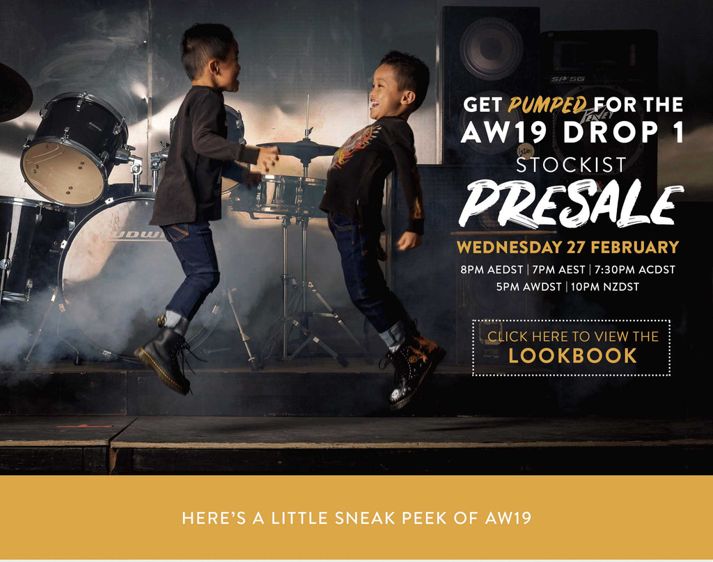 AW19 Presale is here!