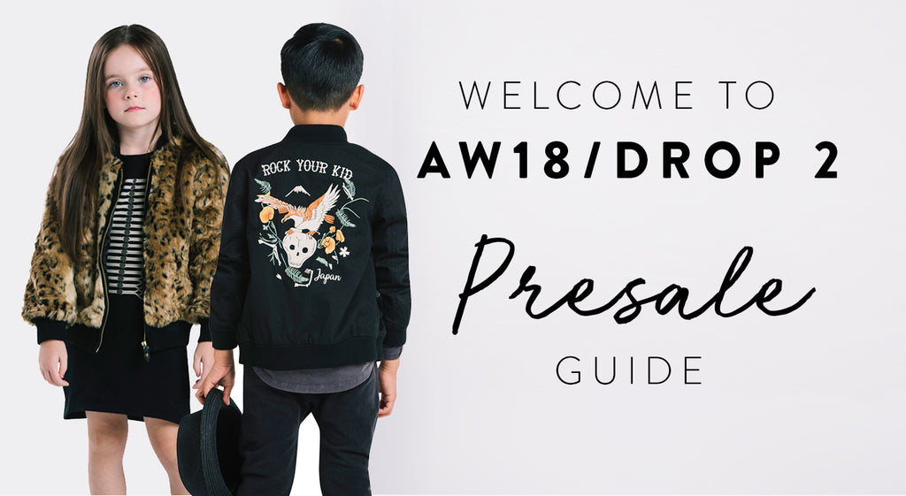 AW18 Drop 2 Presale Guide