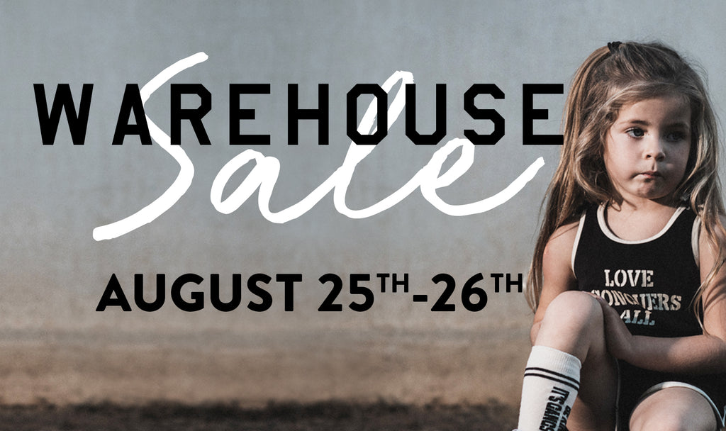 It's WAREHOUSE SALE Time!!