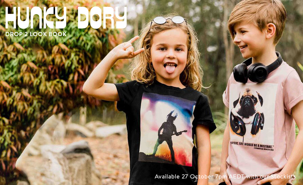 Hunky Dory Drop 2 Look Book is here!