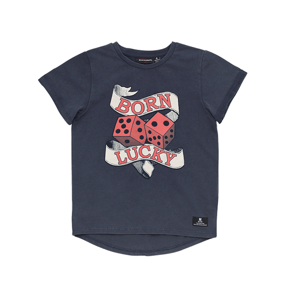 BORN LUCKY T-SHIRT