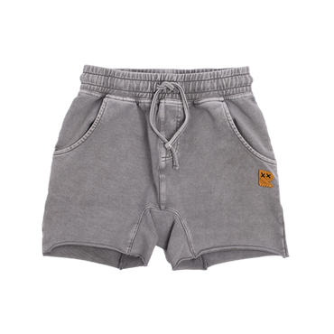 STONE GREY SMASH SHORTS