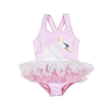 SWAN LAKE TULLE BABY ONE PIECE