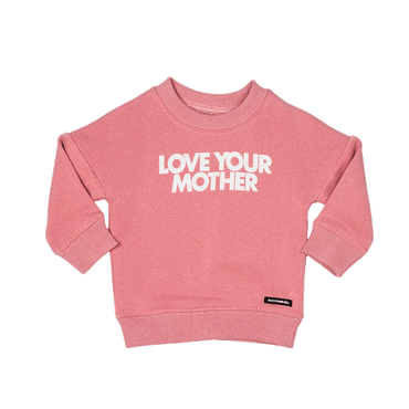 LOVE YOUR MOTHER BABY JUMPER