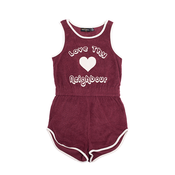LOVE THY NEIGHBOUR ROMPER