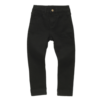 BLACK WASH DENIM JEANS