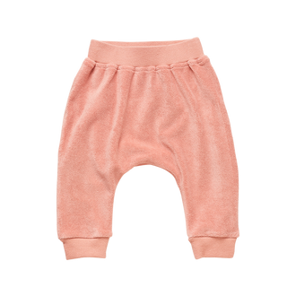 TERRY TOWELLING BABY TRACKPANTS