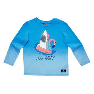 POOL PARTY LS T-SHIRT