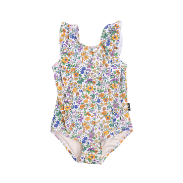 SPRING FLORALS BABY ONE-PIECE SWIMSUIT