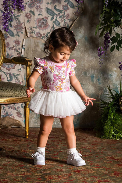 RETRO UNICORN BABY CIRCUS DRESS