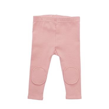 PINK KNEE PATCH BABY TIGHTS