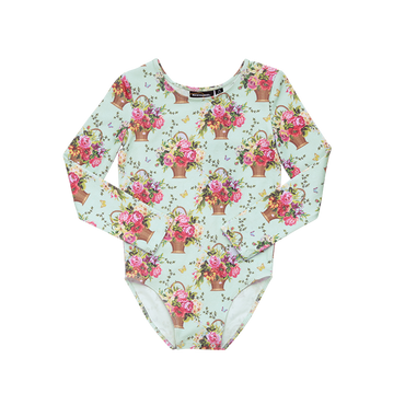 BASKET OF FLOWERS LEOTARD