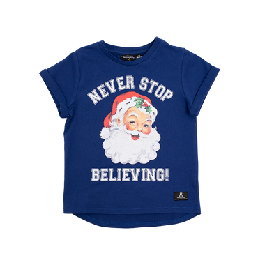 NEVER STOP BELIEVING T-SHIRT